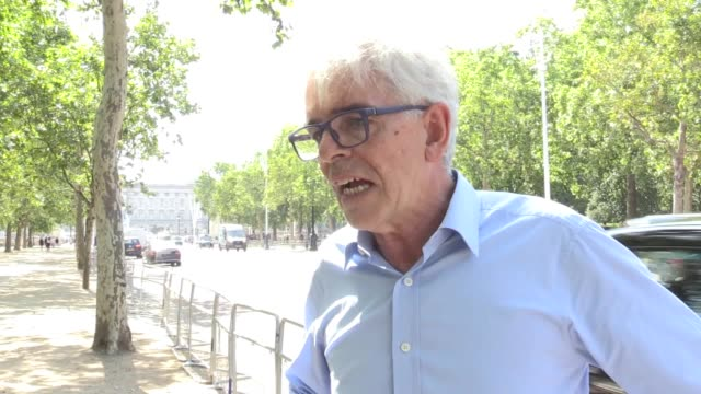 john sauven the general secretary of green peace said why they tried to disrupt boris johnson driving to buckingham palace to form a new government... - people in a line stock videos & royalty-free footage