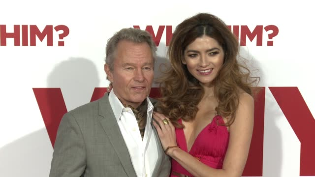 john savage and blanca blanco at the why him world premiere at regency bruin theater on december 17 2016 in westwood california - bruin theater stock-videos und b-roll-filmmaterial