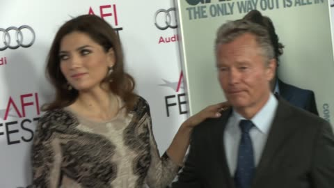 """john savage at afi fest 2014 presented by audi gala screening of """"the gambler"""" at dolby theatre on november 10, 2014 in hollywood, california. - the dolby theatre stock videos & royalty-free footage"""