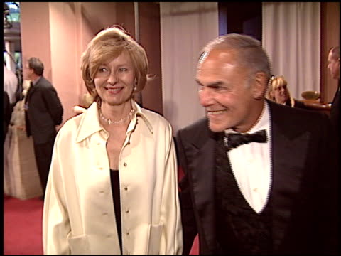 john saxon at the night of 100 stars oscar gala at the beverly hilton in beverly hills california on february 29 2004 - 76th annual academy awards stock videos & royalty-free footage