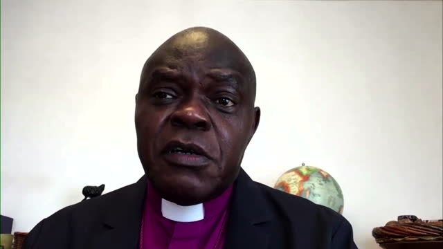 "john sentamu saying prince philip was ""about change, not reform"" - queen royal person stock videos & royalty-free footage"