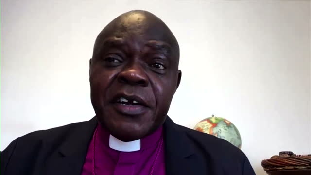 john sentamu talking about prince philip and queen elizabeth ii's faith - queen royal person stock videos & royalty-free footage