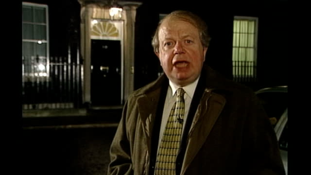 john sergeant pulls out of strictly come dancing downing street john sergeant reporter to camera - sergeant stock videos & royalty-free footage