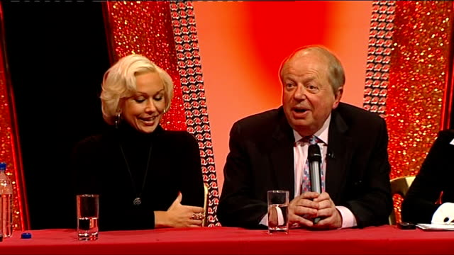 john sergeant pulls out of strictly come dancing int john sergeant press conference sot what did affect me was when peter mandelson said 'i envy... - sergeant stock videos & royalty-free footage