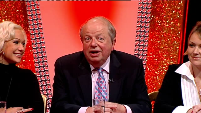 john sergeant pulls out of strictly come dancing john sergeant press conference sot i might have won this competition / frightening thought / bitter... - sergeant stock videos & royalty-free footage