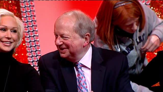 john sergeant pulls out of strictly come dancing press conference england london int john sergeant along to press conference with others / various of... - sergeant stock videos & royalty-free footage