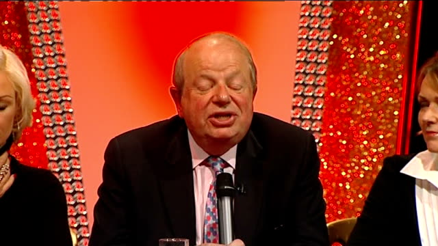 john sergeant pulls out of strictly come dancing: press conference; john sergeant press conference sot - eventually the awesome power of the voters... - jeremy paxman stock videos & royalty-free footage