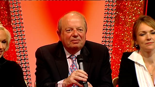 john sergeant pulls out of strictly come dancing press conference elaine bedell press conference sot john sergeant press conference sot on reading... - sergeant stock videos & royalty-free footage