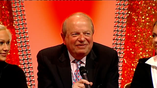 john sergeant pulls out of strictly come dancing sergeant press conference sot - sergeant stock videos & royalty-free footage