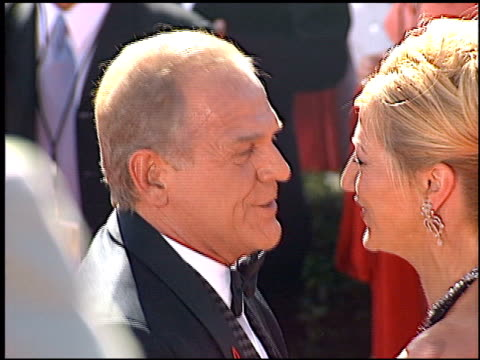 john spencer at the 2000 emmy awards at the shrine auditorium in los angeles, california on september 10, 2000. - shrine auditorium stock videos & royalty-free footage