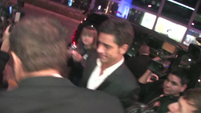 john stamos arrives at jimmy fallon's emmy after party 2011 at trousdale in west hollywood - jimmy fallon stock videos and b-roll footage