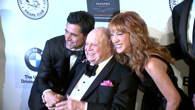 John Stamos Don Rickles Kathy Griffin at The Friars Club Testimonial Dinner Honoring Don Rickles at Waldorf Astoria Hotel on June 24 2013 in New York...