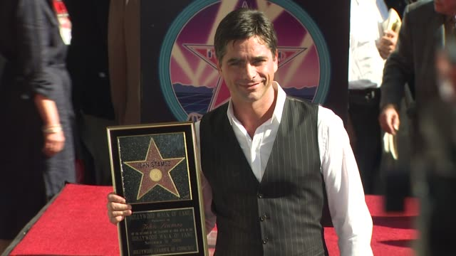 John Stamos Honored with a Star on the Hollywood Walk of Fame Los Angeles CA United States 09/16/09