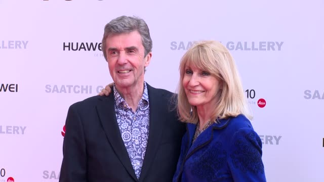 john stapleton lynn faulds wood at saatchi gallery on march 30 2017 in london england - lynn faulds stock videos & royalty-free footage