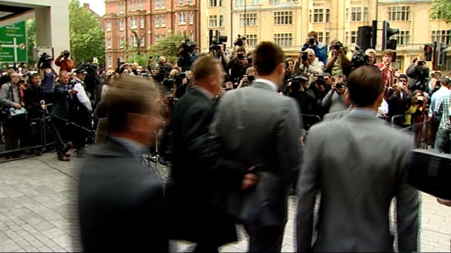 john terry faces fa panel over allegations of racism t13071202 / tx westminster magistrates' court photography** various of terry departing court... - cobham surrey stock videos and b-roll footage