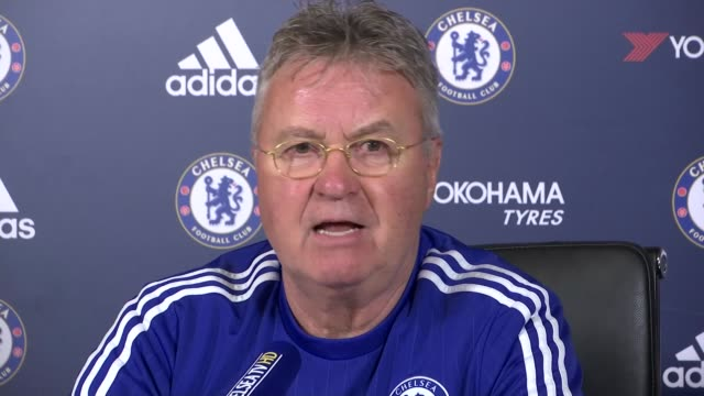 guus hiddink press conference england surrey cobham int guus hiddink press conference sot the club wants to have the dialogue to have an open door - cobham surrey stock videos and b-roll footage