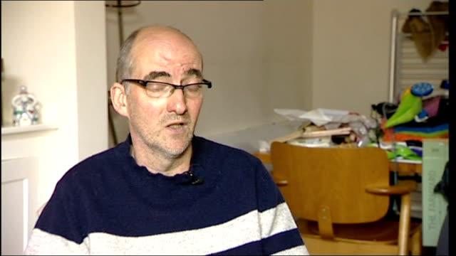 john terry racism charge: fans' response; int mark perryman interview sot - リチャード・パロット点の映像素材/bロール