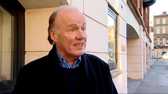 john terry stripped of england captaincy david davies interview sot - リチャード・パロット点の映像素材/bロール