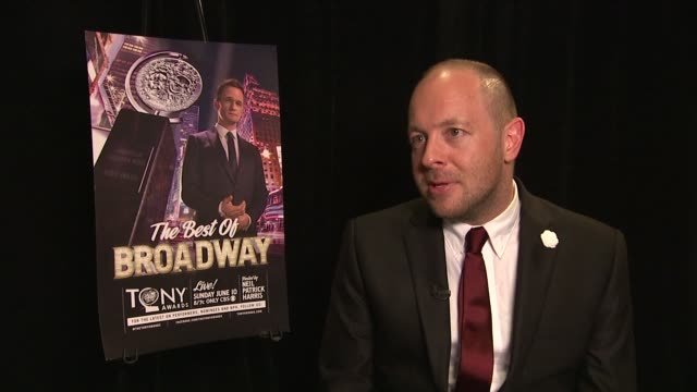 john tiffany on theatre in the digital age at 66th annual tony awards - press room at the beacon theatre on june 10, 2012 in new york, new york - new age stock videos & royalty-free footage