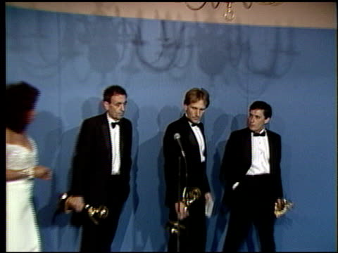 john tinker at the 1986 emmy awards on september 21, 1986. - 1986 stock videos & royalty-free footage