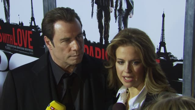 John Travolta and Kelly Preston talk about their trip to Haiti what they saw there and that we can't forget over time On being bald for this film On...