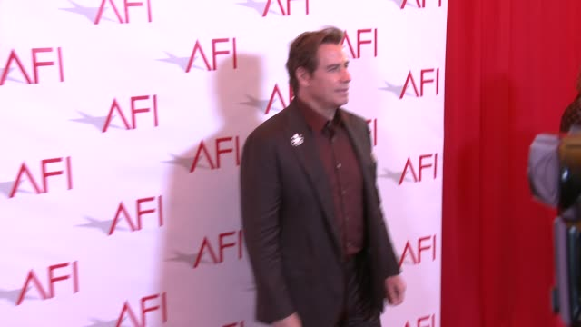 john travolta at four seasons hotel los angeles at beverly hills on january 06, 2017 in los angeles, california. - four seasons hotel stock videos & royalty-free footage
