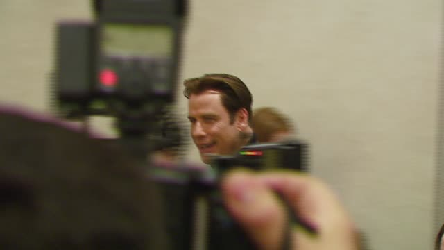 vídeos y material grabado en eventos de stock de john travolta at the 2007 showest at the paris hotel in las vegas nevada on march 14 2007 - paris las vegas