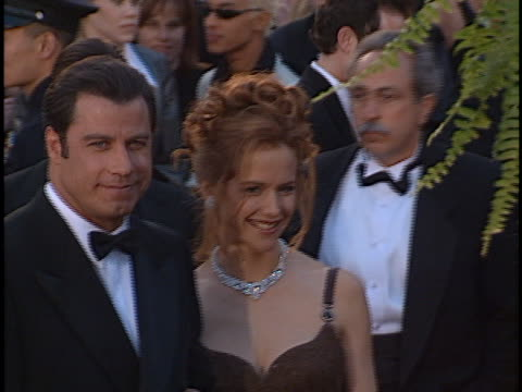 John Travolta at the Academy Awards at Shrine Auditorium