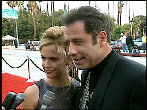 John Travolta at the Blockbuster Awards at Hollywood Pantages Theater in Hollywood California on March 11 1997