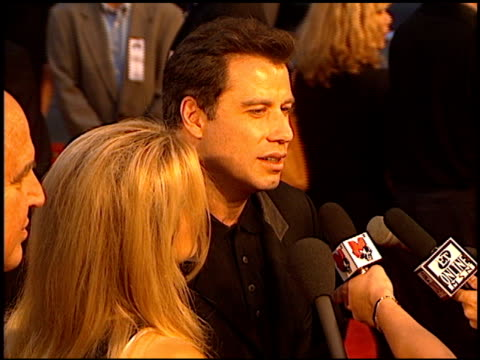 John Travolta at the 'Face/Off' Premiere at Grauman's Chinese Theatre in Hollywood California on June 19 1997