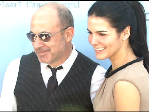 john varvatos and angie harmon at the john varvatos 6th annual stuart house benefit on march 9, 2008. - angie harmon stock videos & royalty-free footage