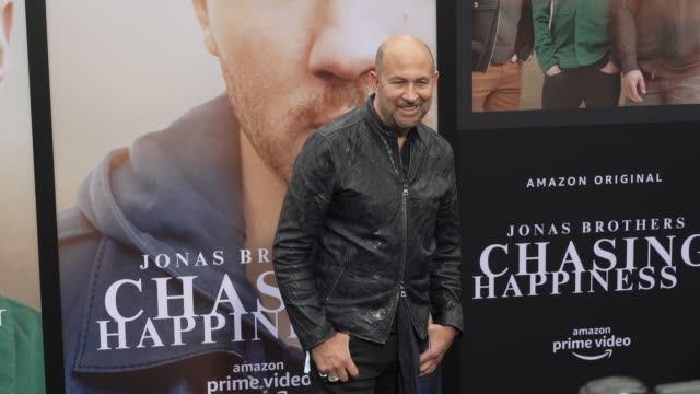 john varvatos at the jonas brothers' chasing happiness world premiere at regency bruin theatre on june 03 2019 in los angeles california - bruin theater stock videos & royalty-free footage
