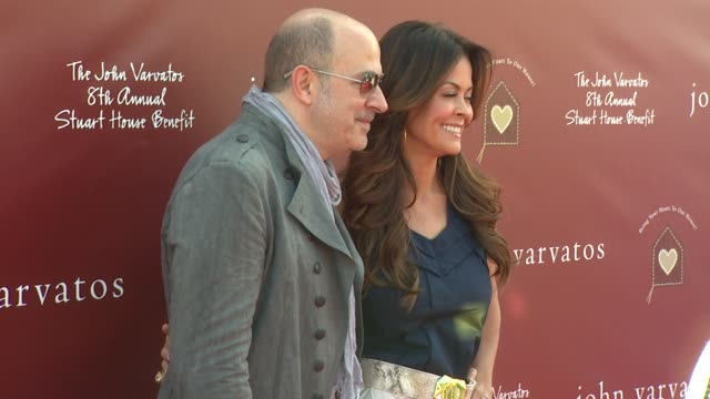 john varvatos brooke burke at the john varvatos 8th annual stuart house benefit at los angeles ca - brooke burke stock videos and b-roll footage