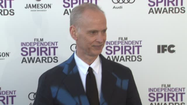 john waters at 2012 film independent spirit awards - arrivals on 2/25/2012 in santa monica, ca. - independent feature project stock videos & royalty-free footage