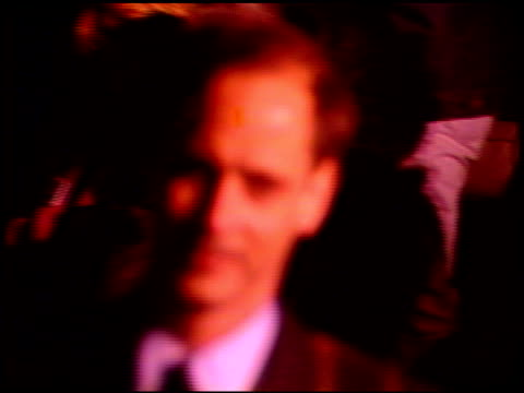 john waters at the 'edward scissorhands' premiere at avco cinema in westwood california on december 6 1990 - westwood neighborhood los angeles stock videos & royalty-free footage