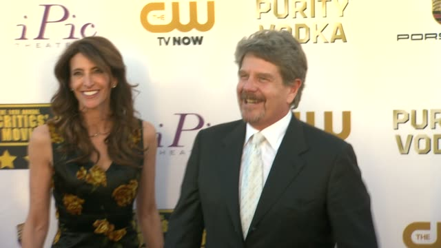 john wells at 19th annual critics' choice movie awards - arrivals at the barker hanger on in santa monica, california. - critics' choice movie awards stock videos & royalty-free footage