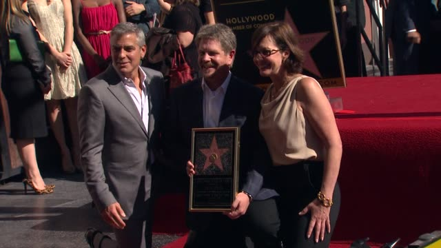 John Wells Honored with a Star on the Hollywood Walk of Fame in Hollywood CA United States 01/12/12