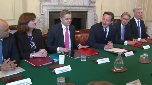 relationship with press and media lib r12051510 / 1252015 sir jeremy heywood seated alongside david cameron freeze frame john whittingdale mp seated... - jeremy heywood stock videos & royalty-free footage
