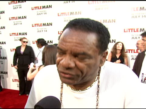 john witherspoon on working on the film how he interacted with the 'little person' on what he has coming out including a cd entitled '63 cent' at the... - mann national theater stock videos & royalty-free footage