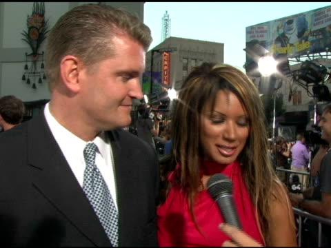 john yarborough and traci bingham at the 'the exorcist: the beginning' world premiere red carpet at grauman's chinese theatre in hollywood,... - traci bingham stock videos & royalty-free footage
