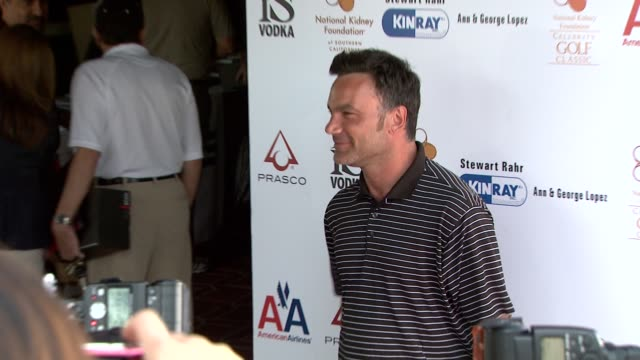 johnathan entin at the 2nd annual national kidney foundation celebrity golf classic at toluca lake ca. - toluca lake stock videos & royalty-free footage