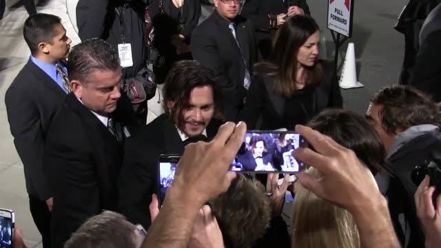 Johnny Depp arriving to the Palm Springs International Film Festival Film Festival Awards Gala in Palm Springs in Celebrity Sightings in Los Angeles