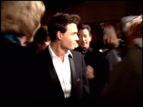 Johnny Depp at the 1995 Golden Globe Awards at the Beverly Hilton in Beverly Hills California on January 21 1995