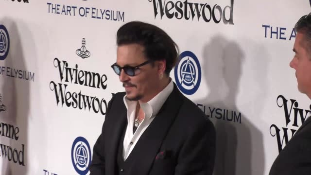 Johnny Depp at The Art of Elysium's 9th Annual HEAVEN Gala at 3LABS in Culver City at Celebrity Sightings in Los Angeles on January 09 2016 in Los...