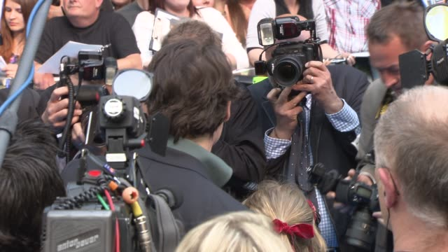 johnny depp at the pirates of the caribbean on stranger tides uk premiere at london england - johnny depp stock videos & royalty-free footage
