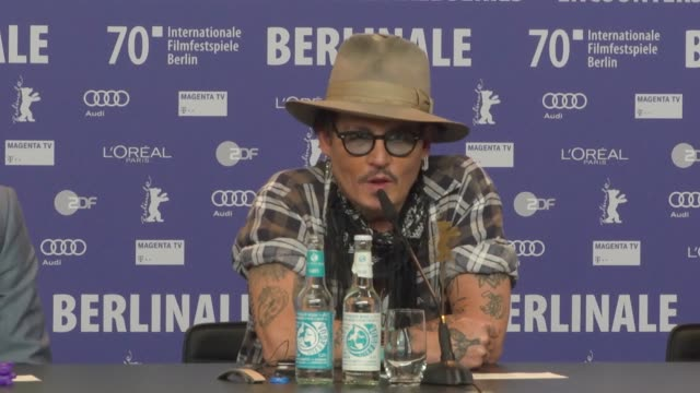 DEU: 'Minamata' Press Conference - 70th Berlin Film Festival