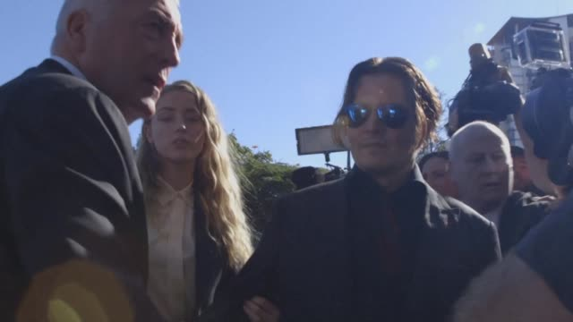 Johnny Depp's wife Amber Heard pleads guilty to falsifying quarantine documents to bring two dogs into Australia in a case dubbed the war on terrier