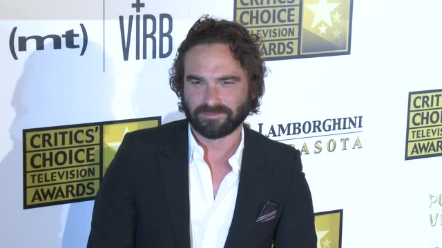 Johnny Galecki at Broadcast Television Journalists Association's 3rd Annual Critics' Choice Television Awards on 6/10/2013 in Beverly Hills CA