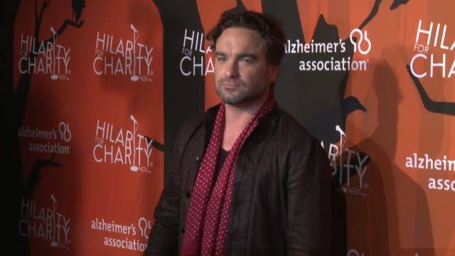 johnny galecki at hilarity for charity's 5th annual los angeles variety show seth rogen's halloween at hollywood palladium on october 15 2016 in los... - seth rogen stock videos and b-roll footage