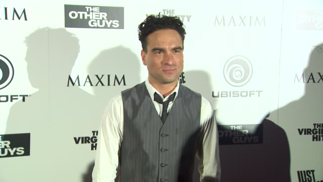 Johnny Galecki at the Maxim Ubisoft And Sony Pictures Celebrate The Cast Of 'The Other Guys' at San Diego CA